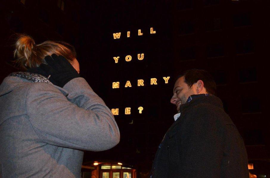 82c7064f5aba Φωτογραφικά καρέ από πρωτότυπες προτάσεις γάμου