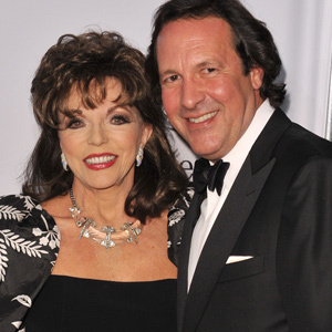 Joan Collins and Percy Gibson - 32 χρόνια