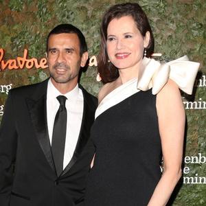 Geena Davis and Reza Jarrahy - 15 χρόνια