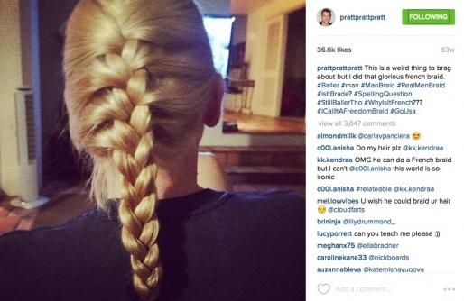 ο άντρας-πρότυπο Chris Pratt