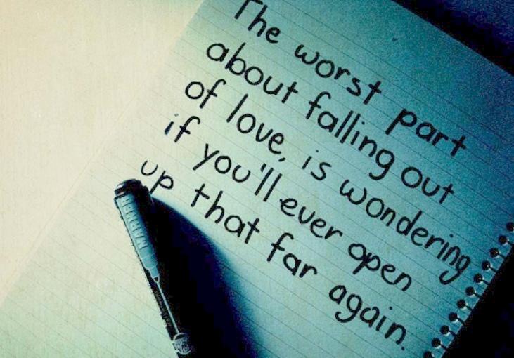 θα ερωτευτείς ξανά;