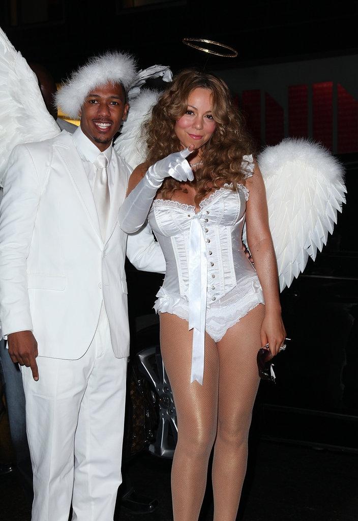 Mariah Carey και Nick Cannon ως Αγγελάκια