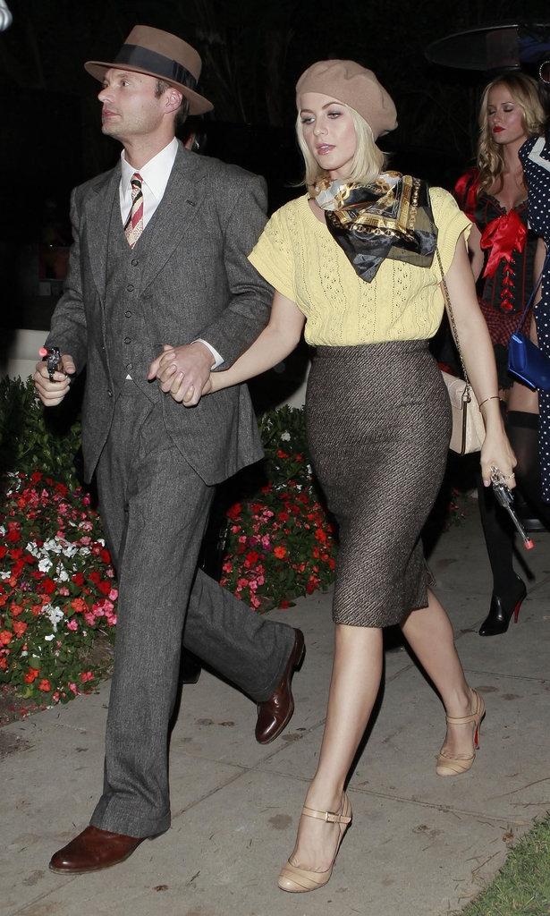 Julianne Hough και Ryan Seacrest ως Bonnie και Clyde