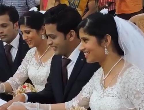 Ένας απίστευτος γάμος διδύμων